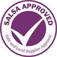 safe and local suppler approved logo