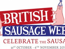 British Sausage Week Logo Promotion
