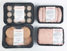 various sausage meet products