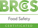 BRCS Food Certificated logo